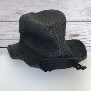 Accessories - 100% Paper Black Fedora Bow One Size